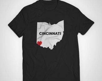 Cincinnati Love American Apparel T-Shirt