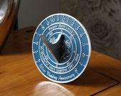 Handmade Wedding  Anniversary Sundial Gift By The Metal Foundry Ltd.