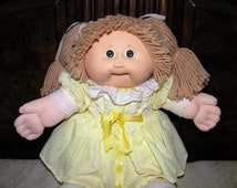Vintage Cabbage Patch Kid Doll~ #5 HM Lion Mane/ Green Eyes
