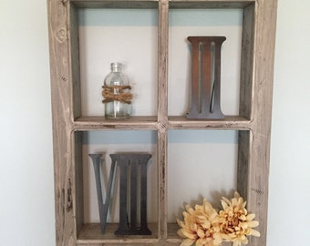 rustic window window frame window pane window box - Windowpane Picture Frame