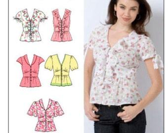 Simplicity Pattern 2601 Misses Blouse Size 14-22
