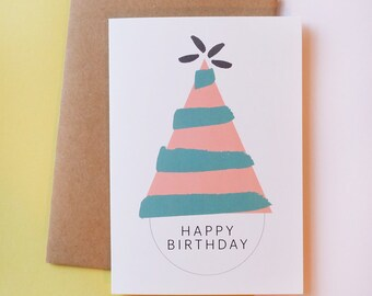 Happy birthday // Greeting Card