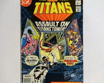 1981 Teen Titans No.7 DC Comic (VF/NM) Collectable,Vintage TeenTitans Comic Book Collectable