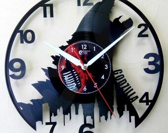 Vinyl wall clock - Godzilla