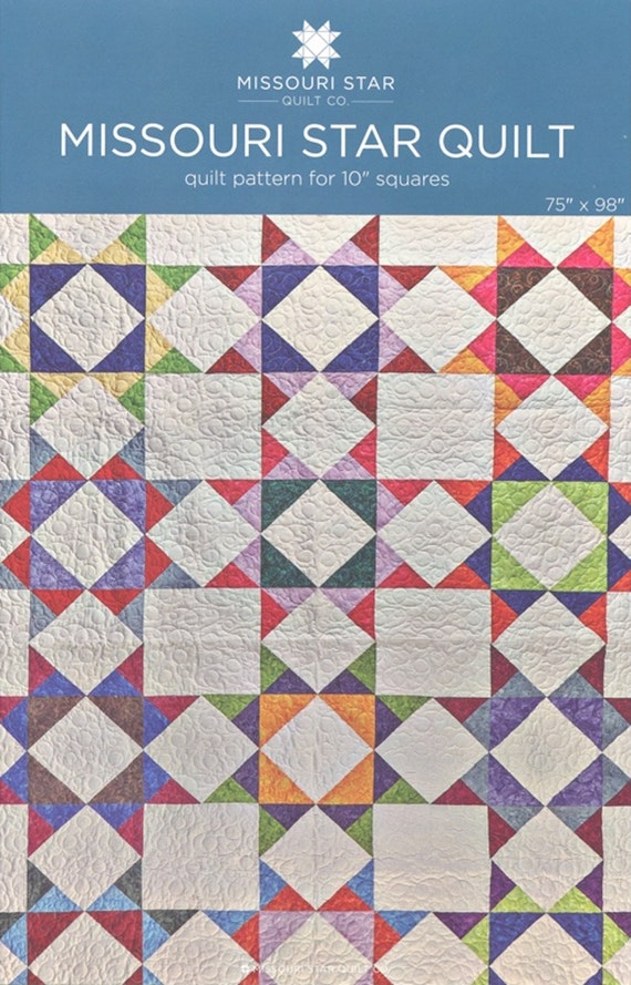 Layer Cake Quilt Material : MSQC Missouri Star Quilt Quilt Pattern for 10