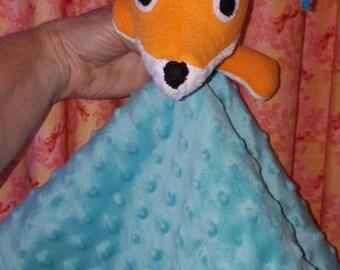 Li'l Minky Fox Lovey/Taggie