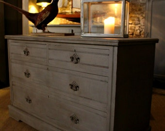 SOLD **** Similar Pieces en-route**** Handsome George III Hand Painted Chest of Drawers