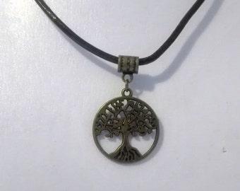 tree of life Yggdrasil choker necklace