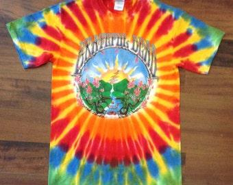 Grateful Dead Steal Your Face Sunrise TieDye Shirt