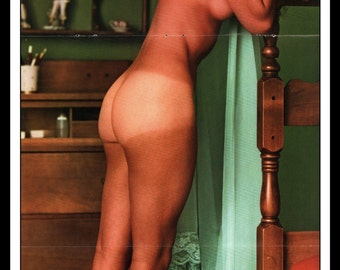 "Mature Playboy December 1967 : Playmate Centerfold Kaya Christian Gatefold 3 Page Spread Photo Wall Art Decor 11"" x 23"""