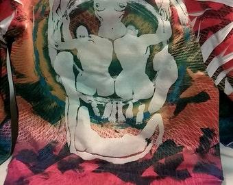 Custom Made Punk Themed Hoodie - Womens Medium