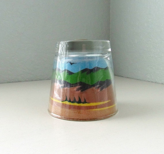 Sand Art Paperweight