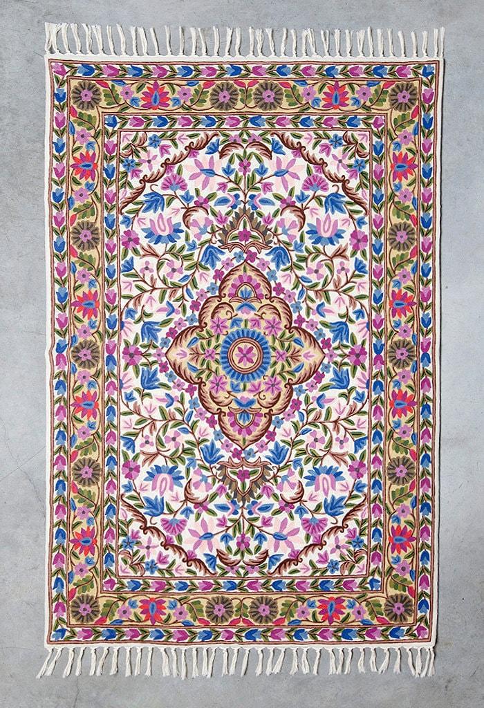 floral area rugs 4x6 area rug5x8 area rugpink area rug. Black Bedroom Furniture Sets. Home Design Ideas