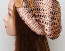 Womens Hats Crochet Hat Slouchy Hat Slouchy Beanie Spring hat Fall Summer Hat Crochet Beanie Womens Accessories Girlfriend Gift for Women