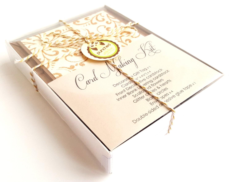carte kit fabrication bricolage cartes de voeux cadeaux pour. Black Bedroom Furniture Sets. Home Design Ideas