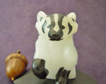 Jaunty Badger Statue