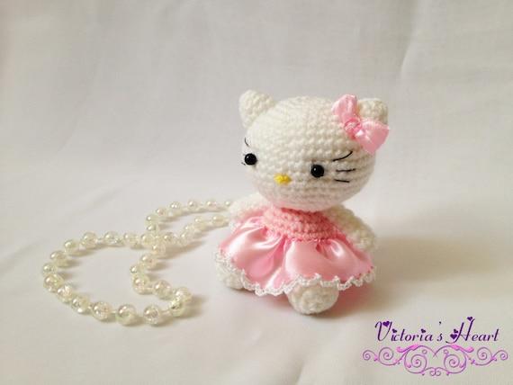 Hello Kitty Puppchen Hakeln Amigurumi : Crochet-knitted amigurumi Hello Kitty by SerdceViktorii on ...