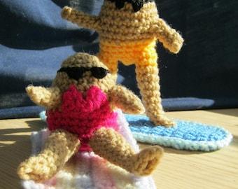 Fried Eggs - Yolk Folk crochet pattern