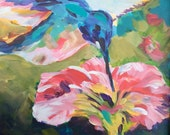 Hummingbird Sunrise digital print