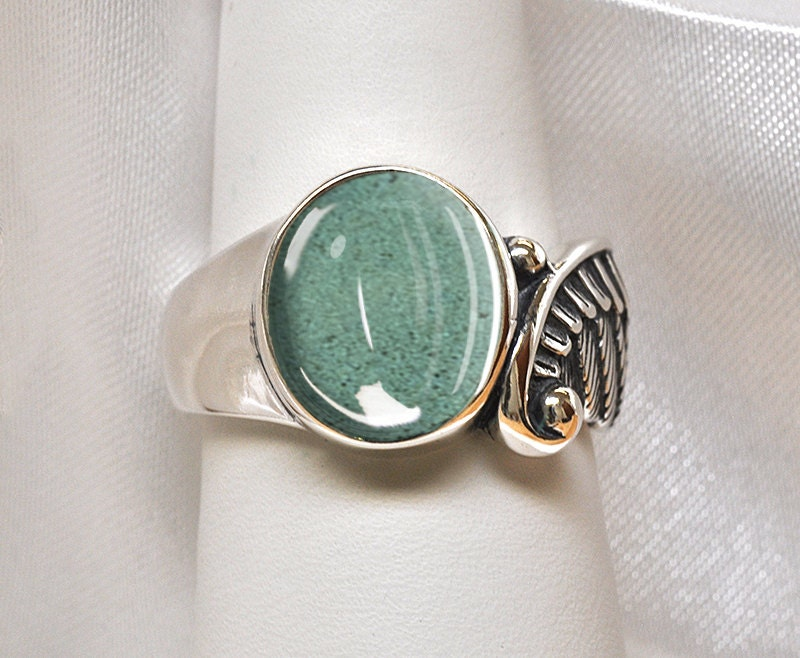 wing pet cremation ashes ring 925 sterling silver pet