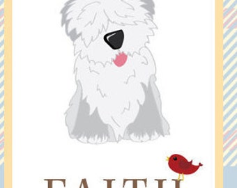 Faith Greeting Card - Featuring Tucker