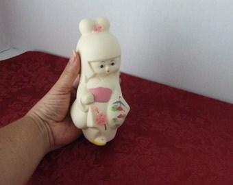 Japanese Geisha Girl, Geisha Girl, Ceramic Geisha Girl, Hand Painted Geisha Girl, Japanese Geisha Girl Ceramic,