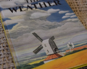The Weather. A Vintage Ladybird book. Series 536. 1965