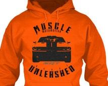 Muscle car Hoodies, dodge hoodies, challenger shirts, car hoodies, fitness hoodies, biker hoodies, muscle car shirts, car graphic hoodies