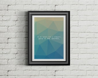 If My Heart Was A Compass | Art Print