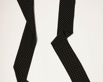 Polka Dot Long Scarf, Gift Ideas, Long Skinny Scarf, Ready To Ship