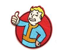 Fallout Shelter patch App Icon patch Embroidered patch Iron on patch Sew on patch Fallout Shelter Applique