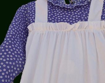 Alice in wonderland Goldie Locks fairytale character cosplay apron dress Hollie Hobbie Vintage Home made costume  womens dress