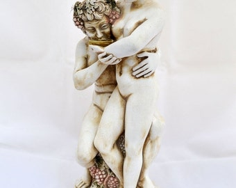 ON SALE Dionysus Dionysos God of wine drinking from Maenad sculpture statue