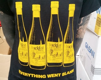 Buckfast - Everything went Blank - bars T-shirt