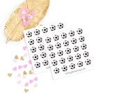 Soccer sticker, life planner sticker for kikki k, filofax or erin condren