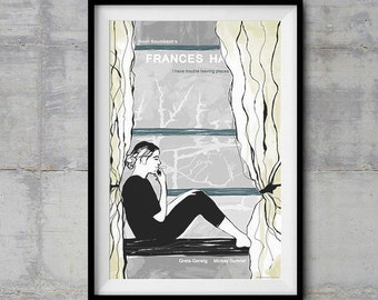 Frances Ha Alternative Movie Poster - Original Illustration