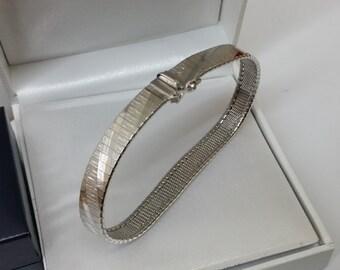 Old 835 silver bracelet vintage elegant SA285