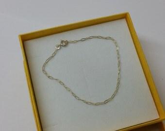 Petite 835 silver bracelet link bracelet SA252