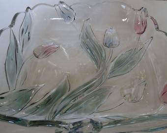 Mikasa Crystal Bowl Etsy
