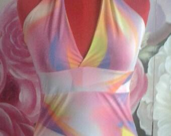 Short dress Empire tailored, summer dress, sundress
