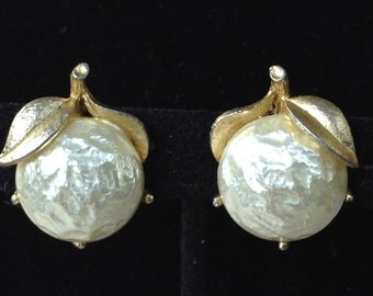 Sarah Cov Baroque Goddess Clip On Earrings