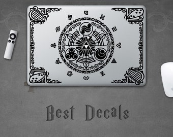 Zelda Gate of Time Sticker Triforce Link Decal for Laptop MacBook iPad iPhone 3DS PS4 XBOX Car Party Birthday Gift Legend of Zelda Hoodie