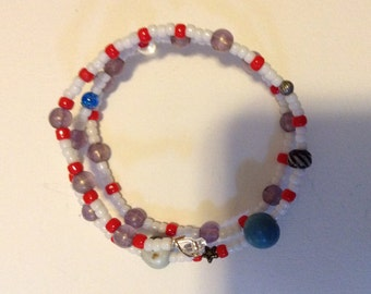 Hand-made Seed Bead Fashion Bracelet