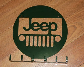 Jeep Key Rack Holder Made from Metal