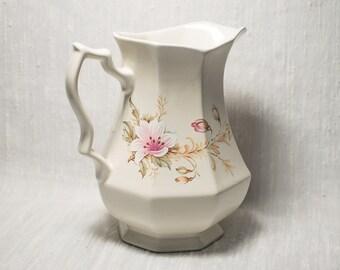 Royal Winton Floral Jug - Staffordshire England
