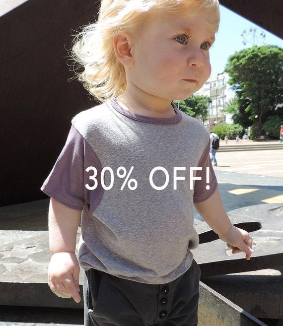 SALE, Girls And Boys T-Shirt, Toddler T-Shirt, Hipster T-Shirt, Toddlers Top, Kids T-Shirt, Toddlers Clothing, Hipster Toddler, Grey T-Shirt