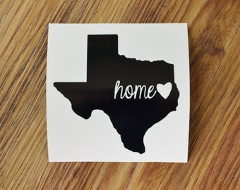 East Texas Home Decal