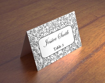 Unique place cards | Etsy
