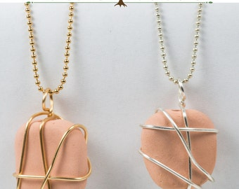 Silver Lines Diffuser Necklace