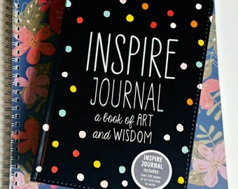Inspire Journal, over 300 inspirational quotes and plenty of room to write!